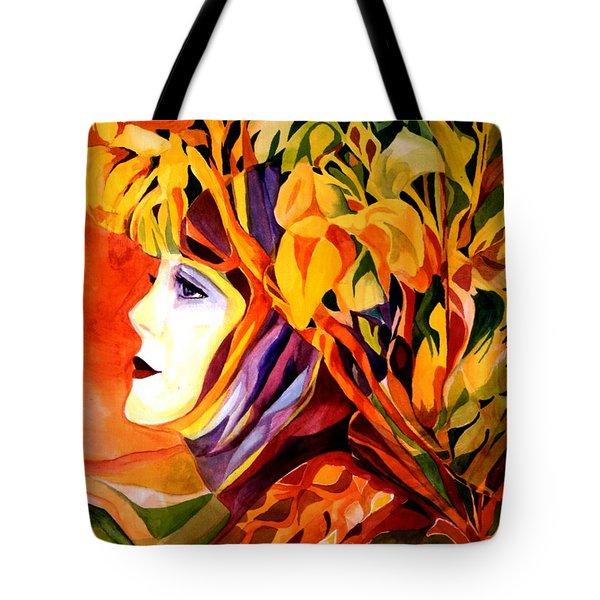 Serenity Tote Bag by Carolyn LeGrand