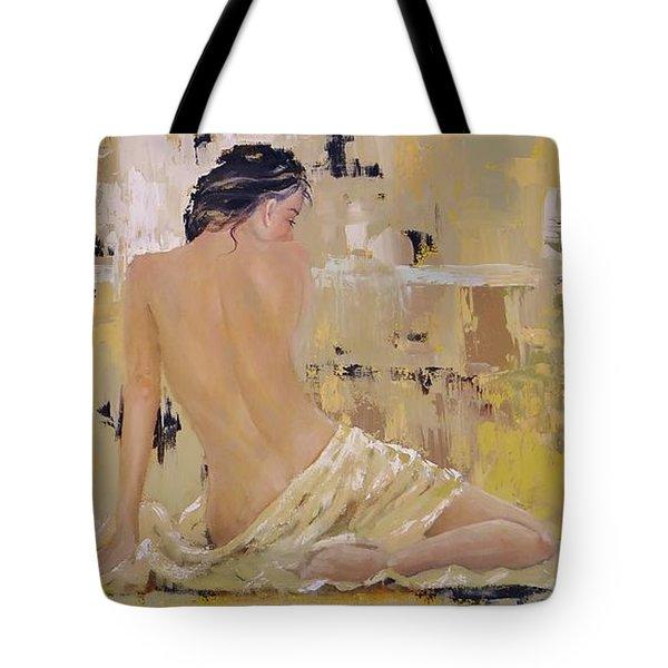 Serenity Tote Bag by Laura Lee Zanghetti