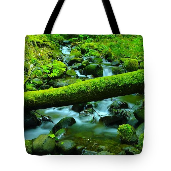 Serenity On The Rocks Tote Bag by Jeff Swan