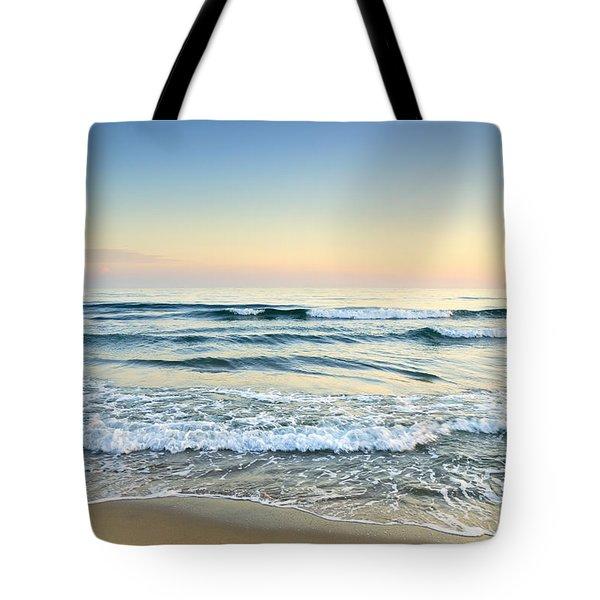 Serenity Sea Vintage Tote Bag by Guido Montanes Castillo