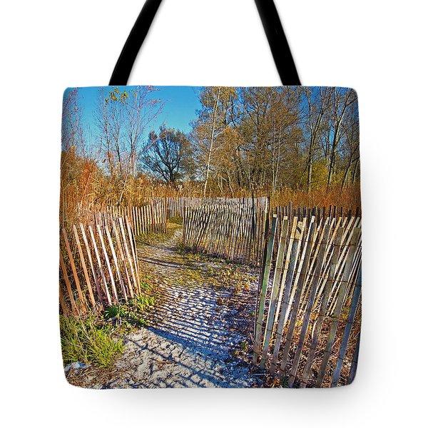 Serenity Trail.... Tote Bag by Nina Stavlund