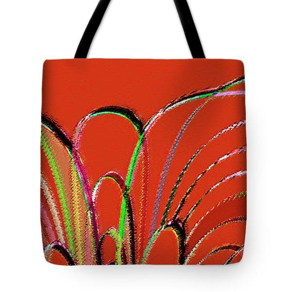 Serpentine Tote Bag by Ben and Raisa Gertsberg