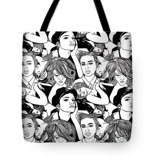 Seven Beauties Tote Bag by Malinda  Prudhomme
