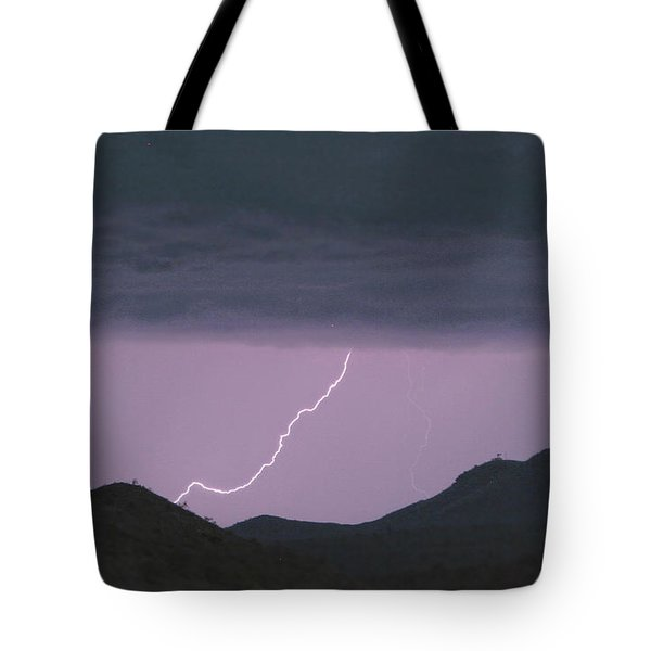 Seven Springs Lightning Strikes Tote Bag by James BO  Insogna