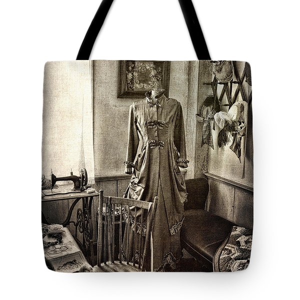 Sewing Room 2 Tote Bag by Cindi Ressler