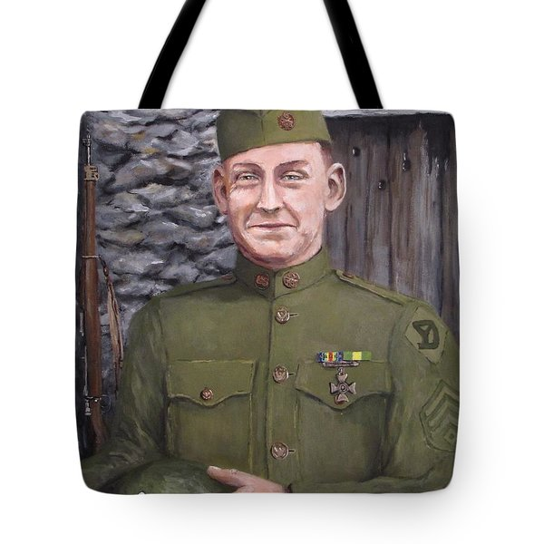 Sgt Sam Avery Tote Bag by Jack Skinner