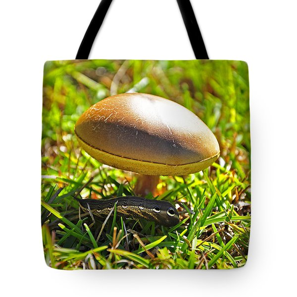 Shade Of The Shroom Tote Bag by Al Powell Photography USA
