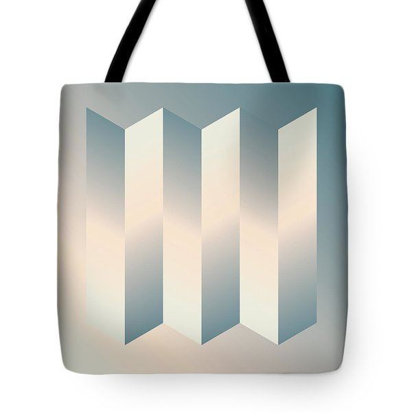 Shaded Columns Tote Bag by Gary Grayson