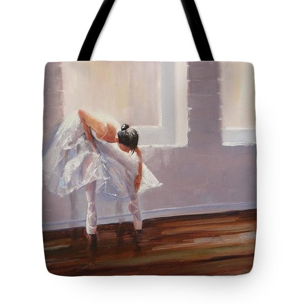 Shades Of Lavender Tote Bag by Laura Lee Zanghetti