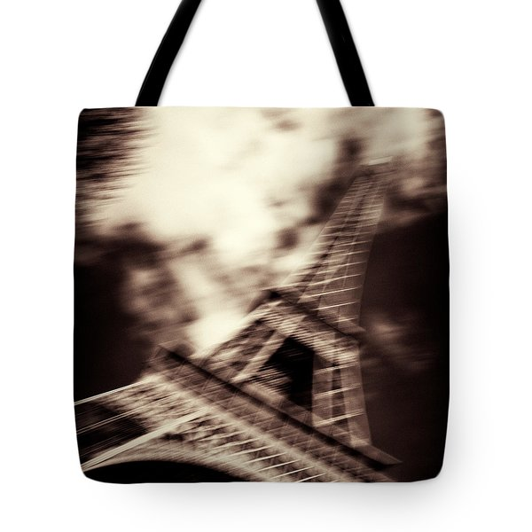 Shades of Paris Tote Bag by Dave Bowman