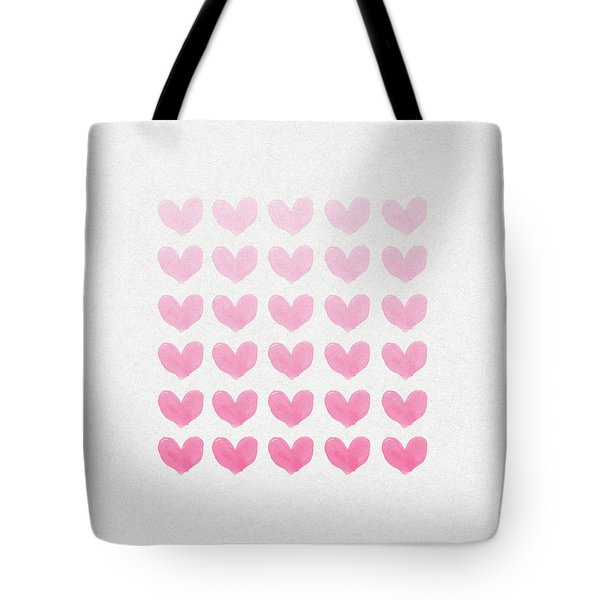Shades of Pink Tote Bag by Aged Pixel