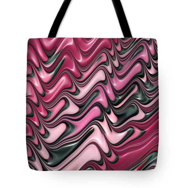 Shades of pink and red decorative design Tote Bag by Matthias Hauser
