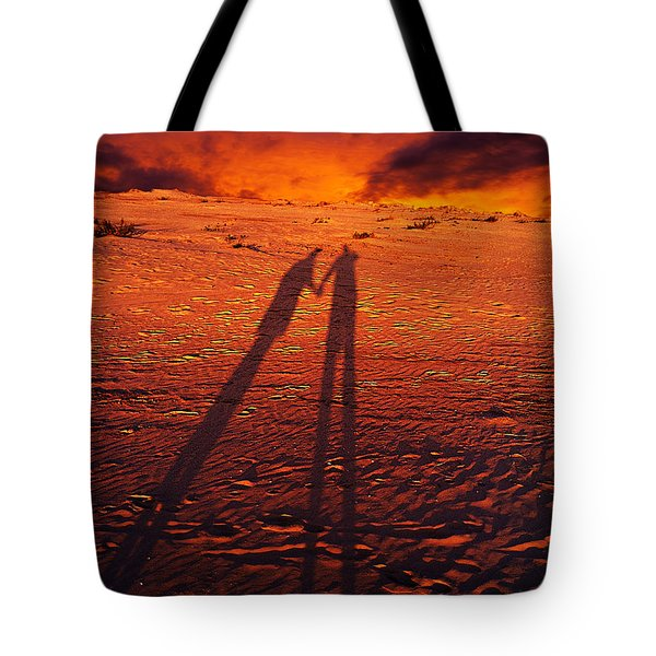 Shadow  Tote Bag by Gray  Artus