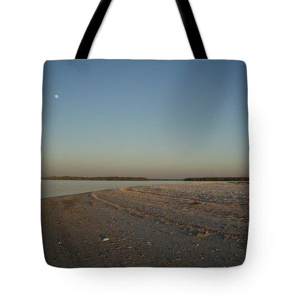 Shadow Moon Tote Bag by Robert Nickologianis