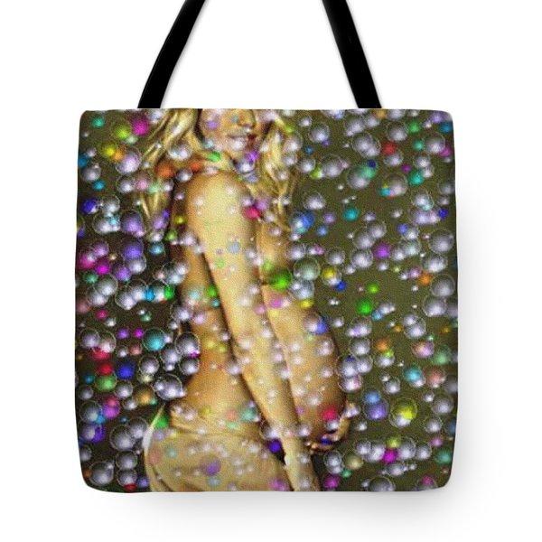 Shakira Bubbly Tote Bag by Piety Dsilva