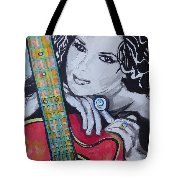 Shania Twain Tote Bag by Chrisann Ellis