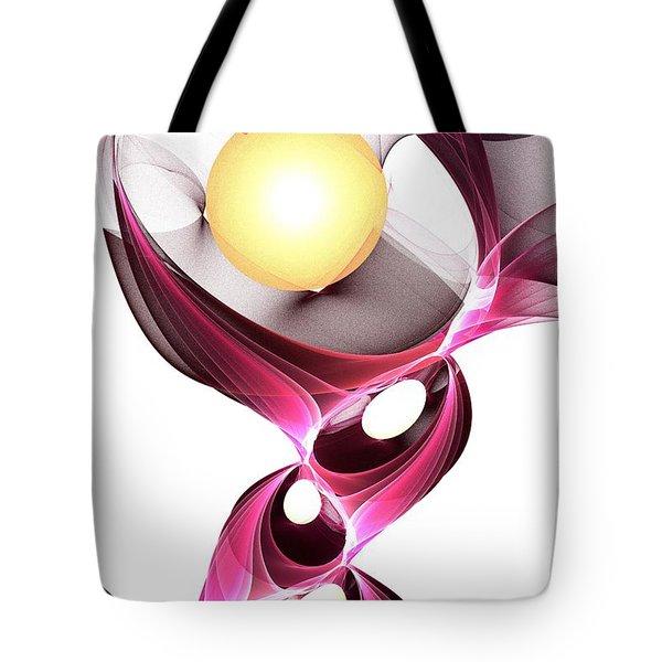 Shape-shifter Tote Bag by Anastasiya Malakhova