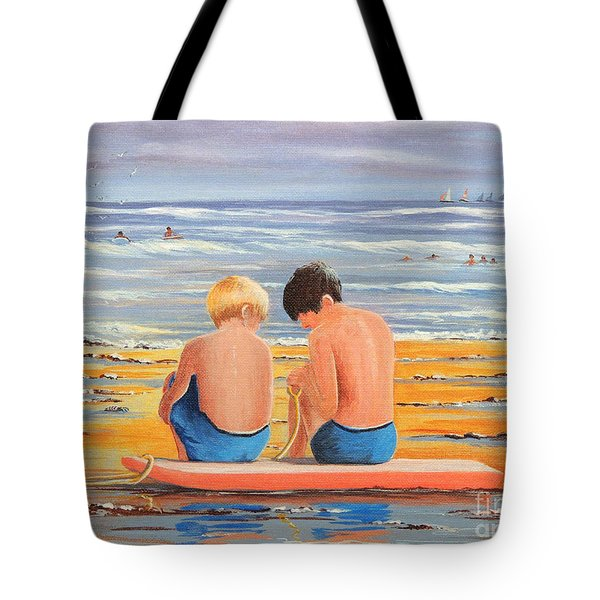 Sharing Is Caring Tote Bag by Bill Holkham