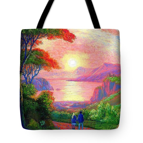 Sharing The Journey Tote Bag by Jane Small