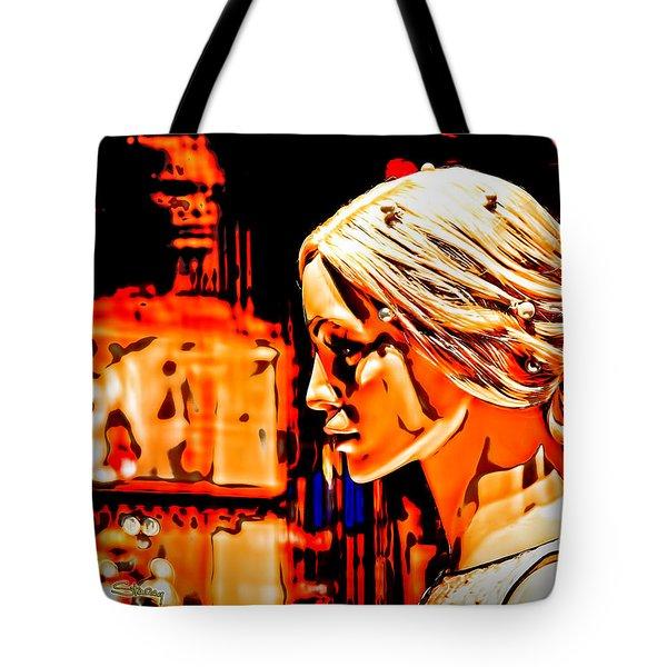 She-devil Tote Bag by Chuck Staley