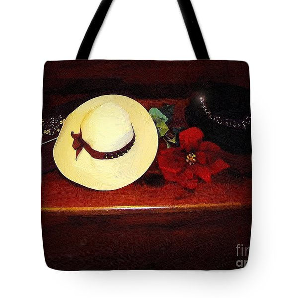 She Loved Hats Tote Bag by RC DeWinter