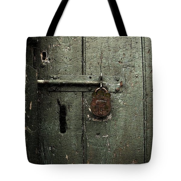 Shed Of Secrets Tote Bag by RC DeWinter