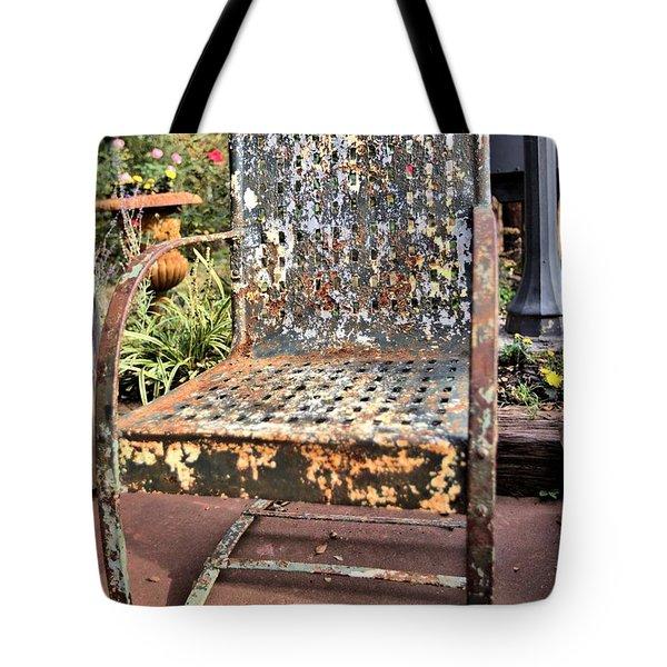 Shedding Tote Bag by Gordon Elwell