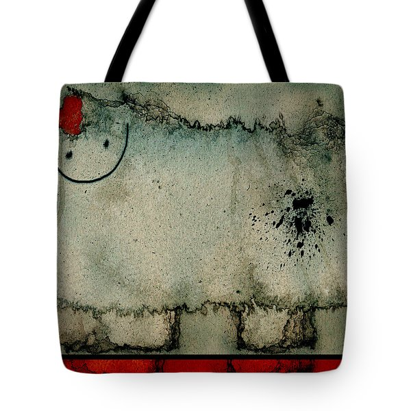 Sheep Or Not So - Bb06 Tote Bag by Variance Collections