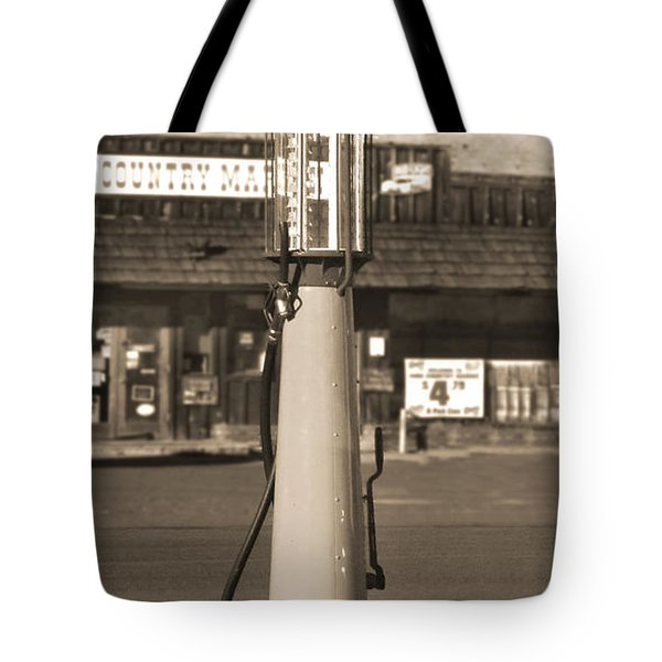 Shell Gas - Wayne Visible Gas Pump 2 Tote Bag by Mike McGlothlen
