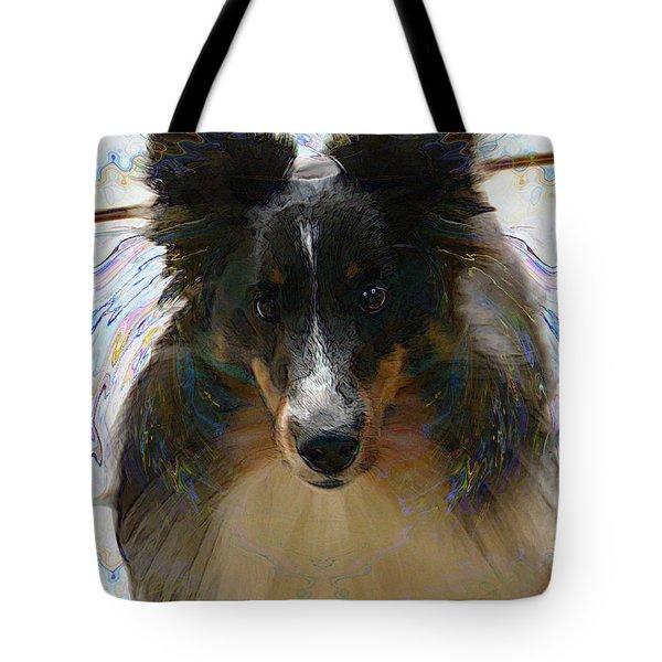 Sheltie Tote Bag by Stuart Turnbull