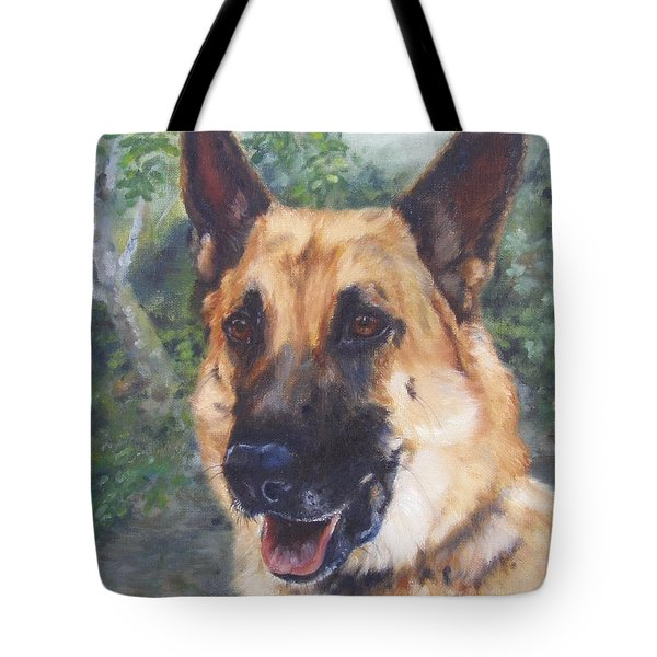 Shep Tote Bag by Lori Brackett