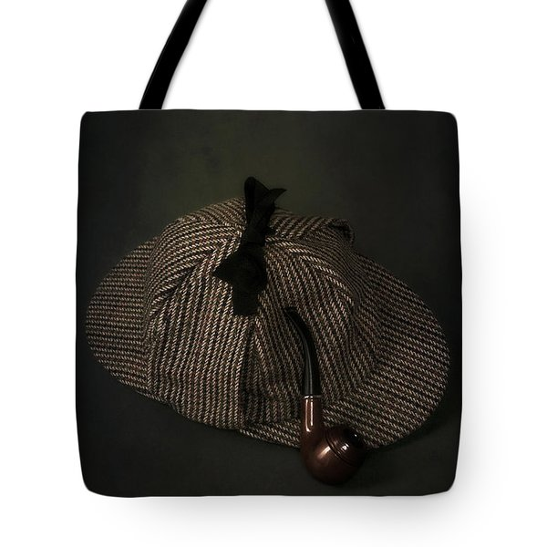 Sherlock Holmes Tote Bag by Joana Kruse