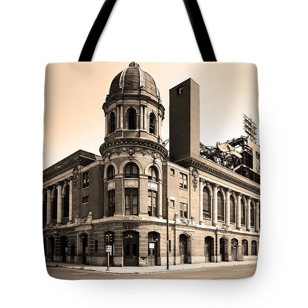 Shibe Park  Tote Bag by Bill Cannon