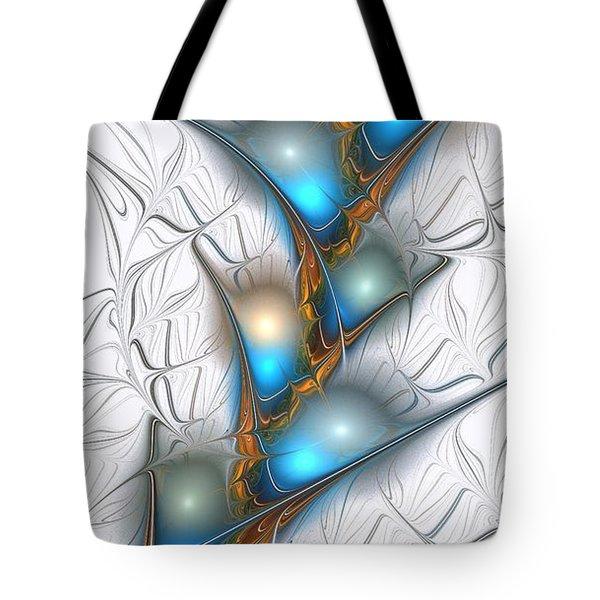 Shimmering Lights Tote Bag by Anastasiya Malakhova