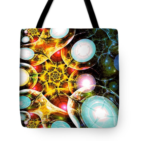 Shining Colors Tote Bag by Anastasiya Malakhova