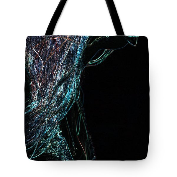 Shining Lady Tote Bag by Jenny Rainbow