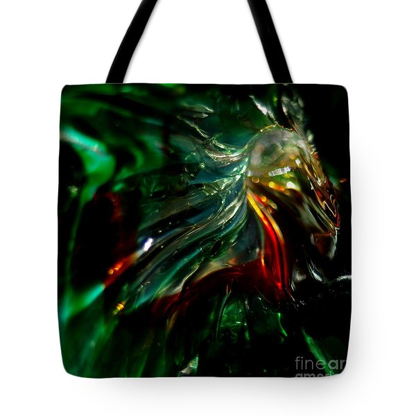 Shining Through The Glass Tote Bag by Kitrina Arbuckle