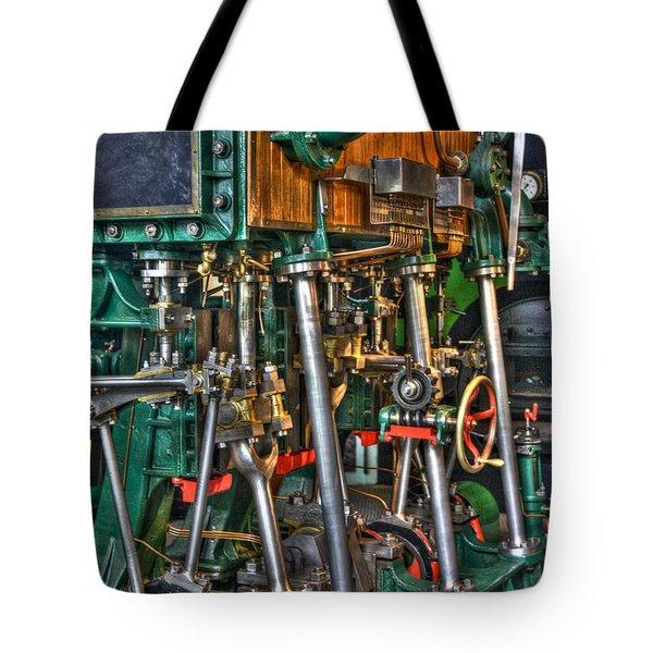 Ship Engine Tote Bag by Heiko Koehrer-Wagner