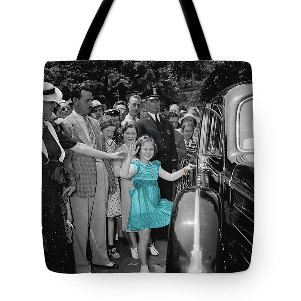 Shirley Temple Tote Bag by Andrew Fare