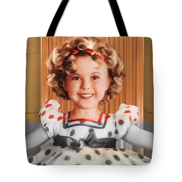 Shirley Temple Tote Bag by Marvin Blaine
