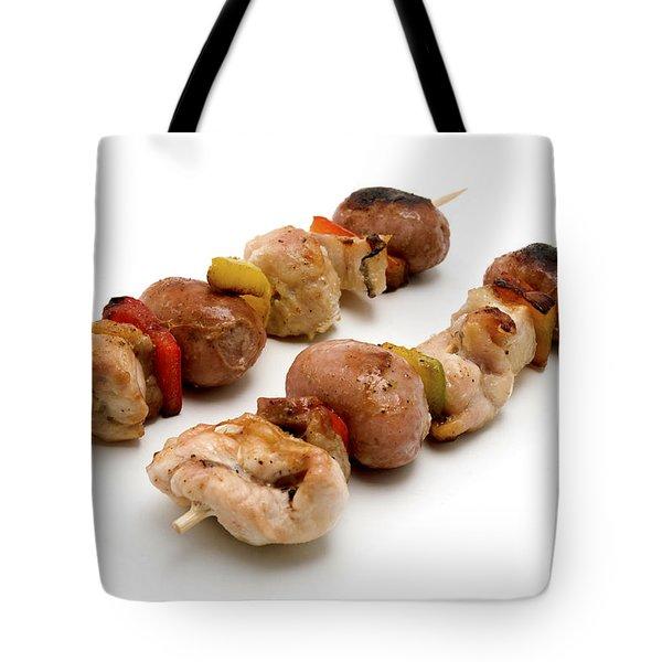 Shish Kebab Tote Bag by Fabrizio Troiani