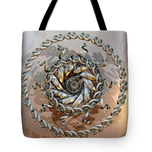 Shiva Ascending Tote Bag by Manny Lorenzo