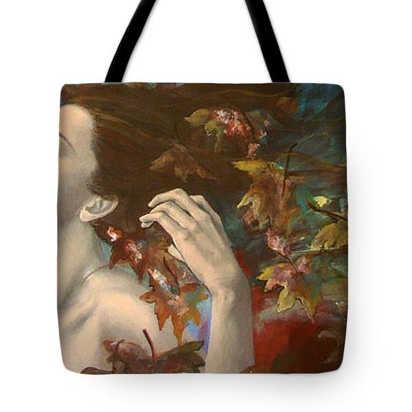 Shivers Tote Bag by Dorina  Costras