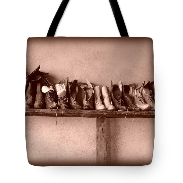 Shoes Tote Bag by Fran Riley