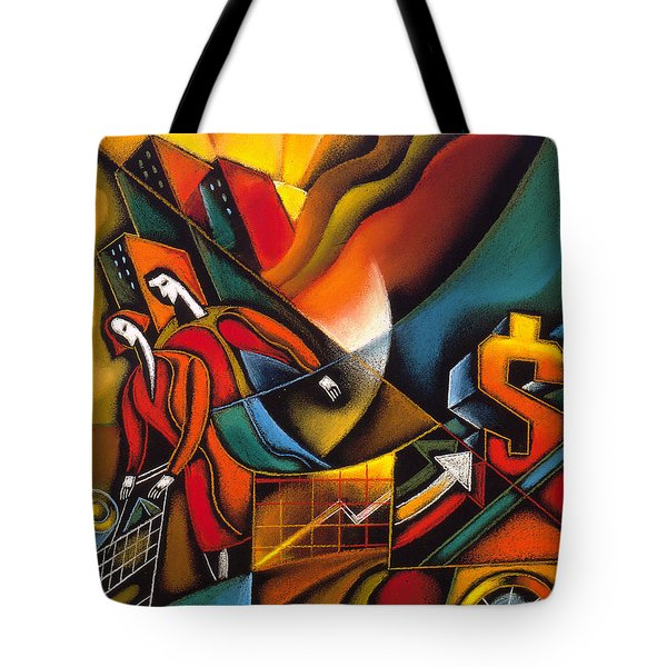 Shopping Tote Bag by Leon Zernitsky