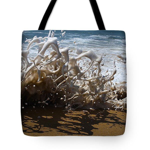 Shorebreak - The Wedge Tote Bag by Joe Schofield