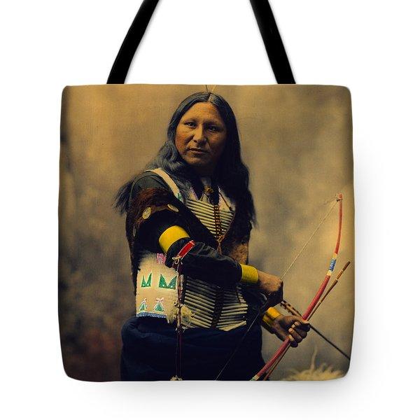 Shout At Oglala Sioux  Tote Bag by Heyn Photo