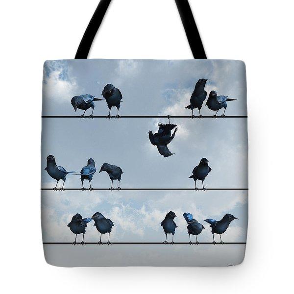 Show Off Tote Bag by Cynthia Decker