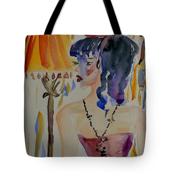 Showgirl Tote Bag by Beverley Harper Tinsley