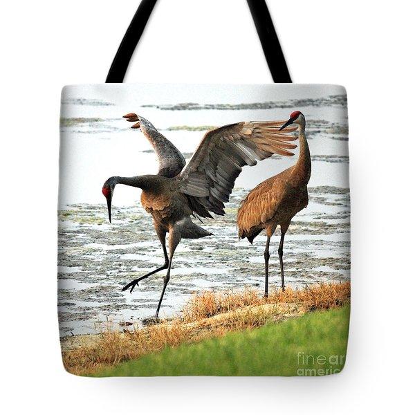 Showoff Tote Bag by Carol Groenen